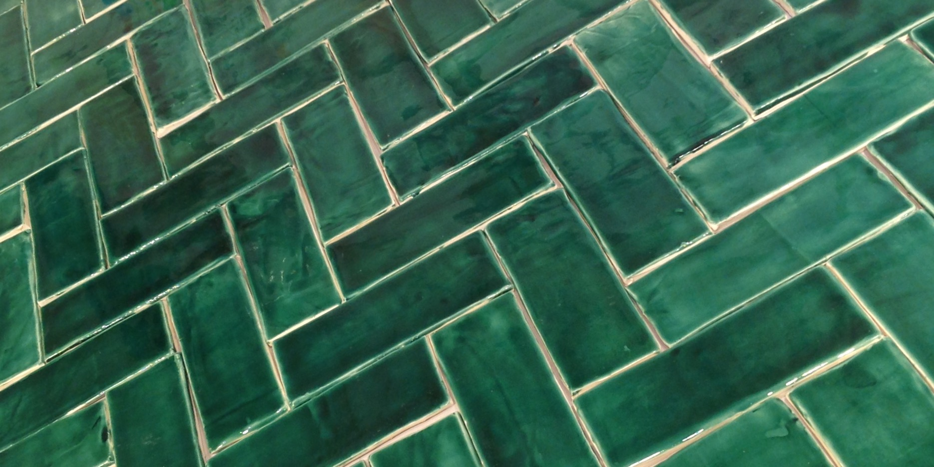 Emerald Green Tiles Black Rock Studio